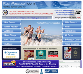 rush passport